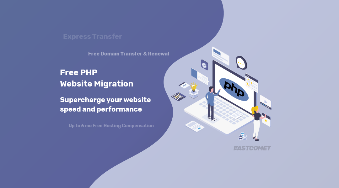 Free PHP Transfer or website migration
