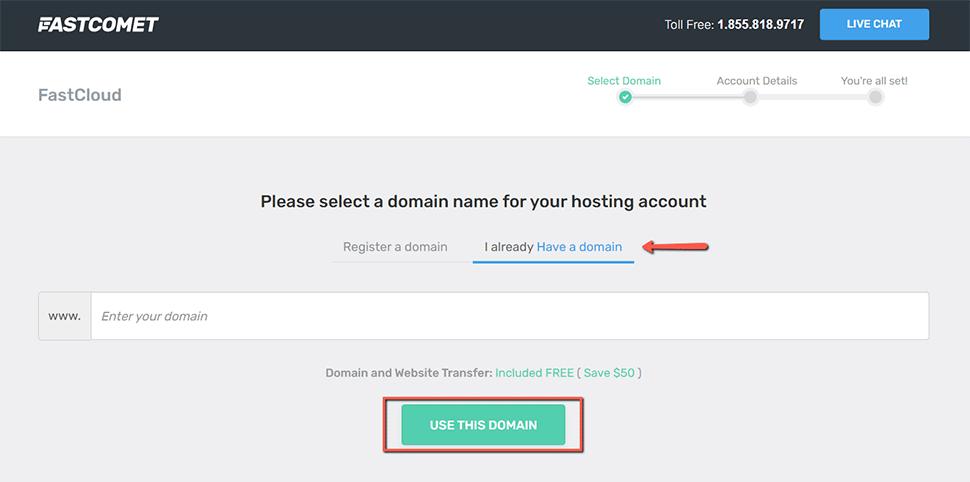 Transfer a GoDaddy Domain to FastComet - FastComet
