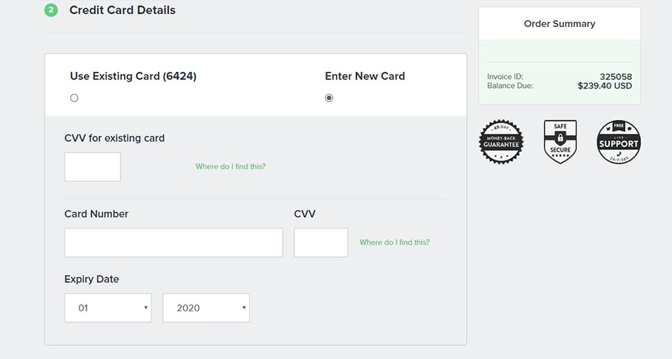 Choose Credit Options