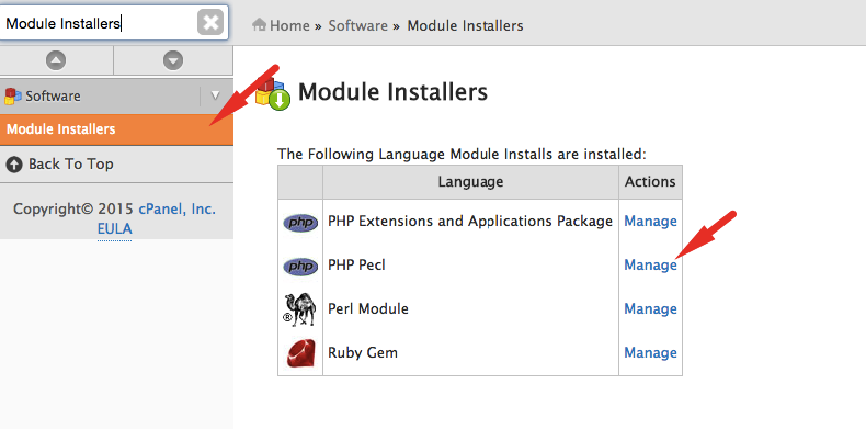 Install PHP-REDIS WHM
