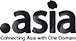 Register .asia domain name