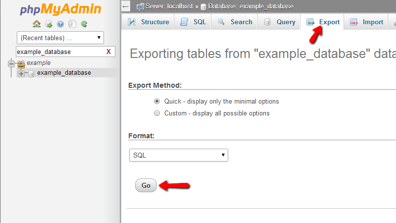 exporting-your-database