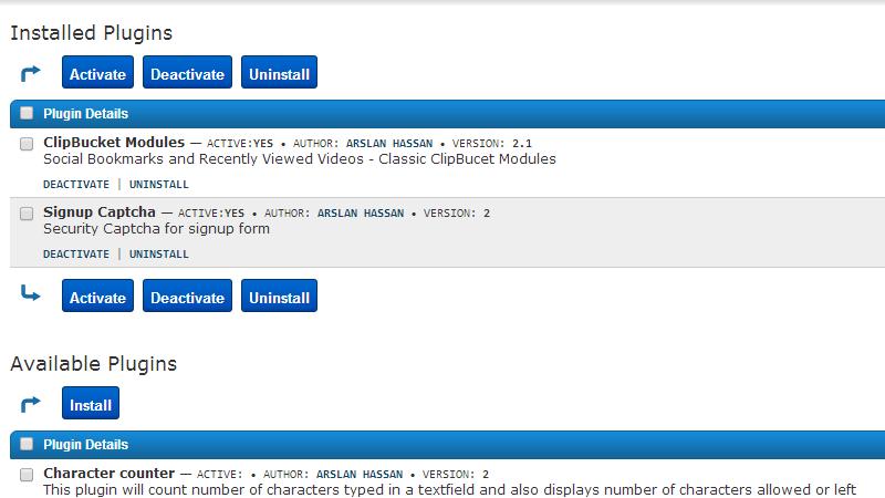 list-of-installed-plugins