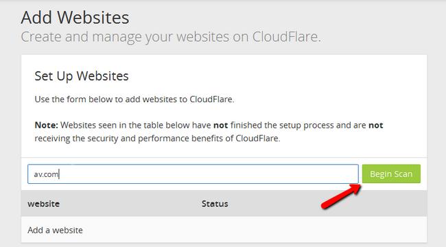 Website Management - Cloudflare Tutorials - FastComet