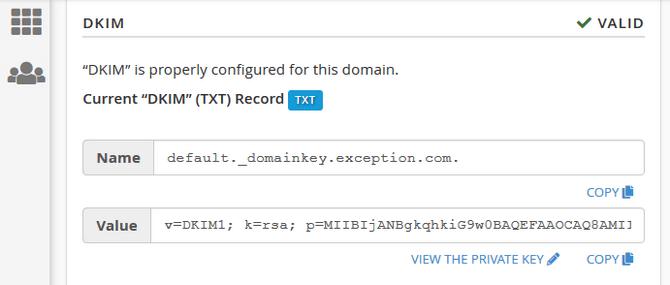 Configure a Valid DKIM Record in cPanel