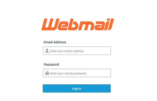 cPanel webmail