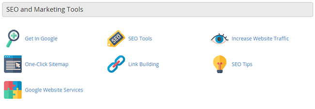 SEO and marketing tools group