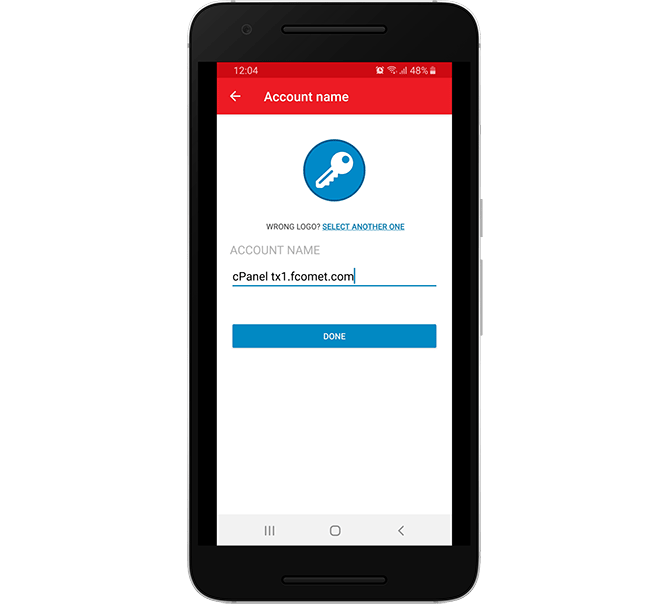 Finish 2FA Entry Creation in Authy