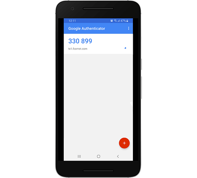 Generate a Two-factor Authentication Code with Google Authenticator