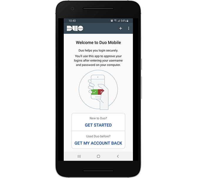 Getting Started with Duo Mobile Two-factor Authentication