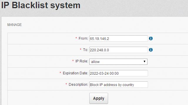 IP-blacklisting