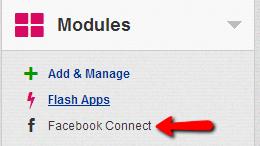 Modules-facebook-connect