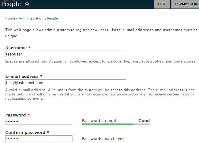 Edit user details in Drupal