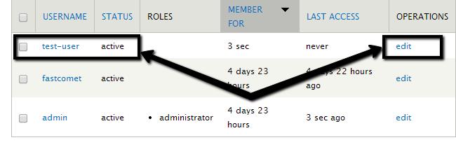 Edit user role in Drupal