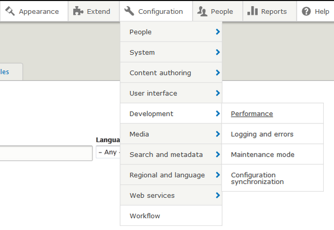 Overview of the Admin Toolbar module for Drupal 8