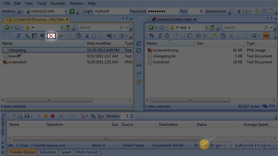 Upload files via SmartFTP - SmartFTP Tutorial - FastComet