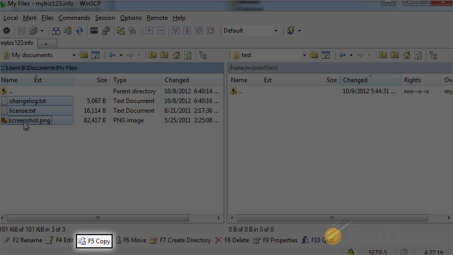 How to Upload Files With WinSCP - WinSCP Tutorial - FastComet