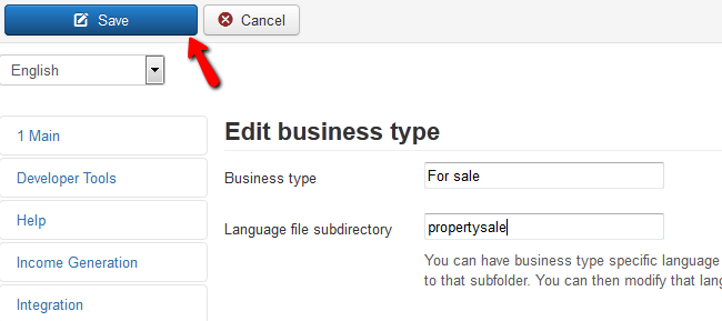 editing business type