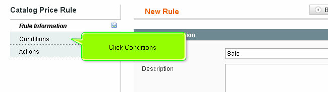 Magento apply rule condition