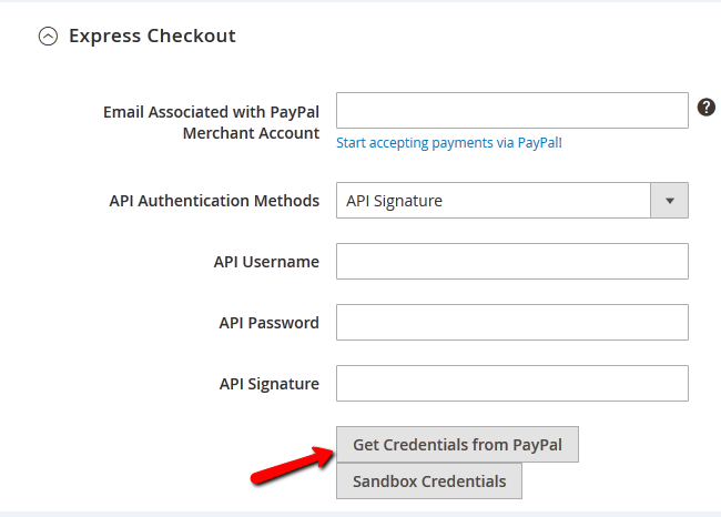 Configuring PayPal Express Checkout in Magento 2