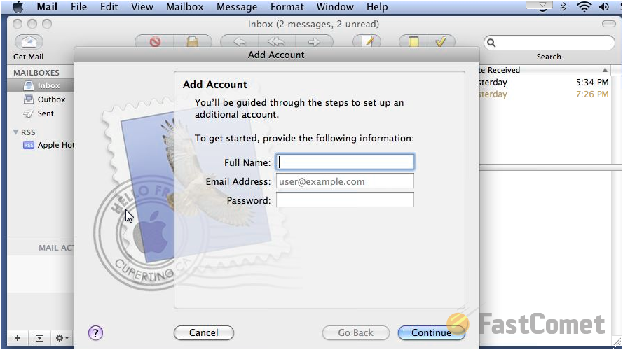 imap-mail-account-setup