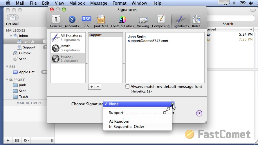 How to Create & Manage Signatures - Apple Mail Tutorial