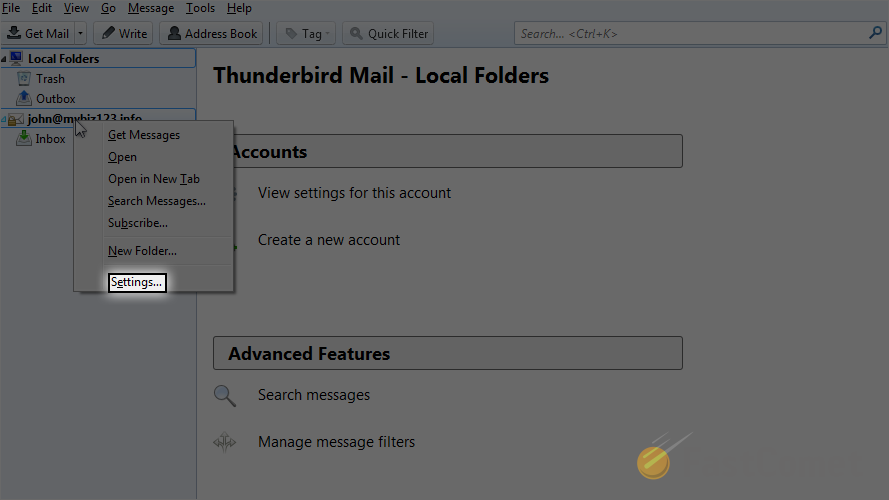 email-account-settings
