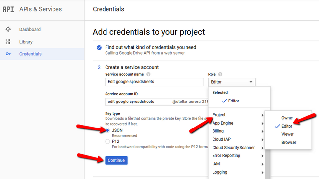 How to use Google Spreadsheets with Node js - Node js