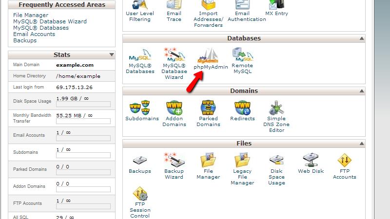 accessing-cpanel-phpmyadmin