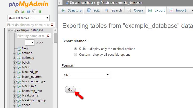 exporting-sql-database-in-phpmyadmin