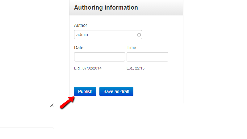 configuring-publishing-options