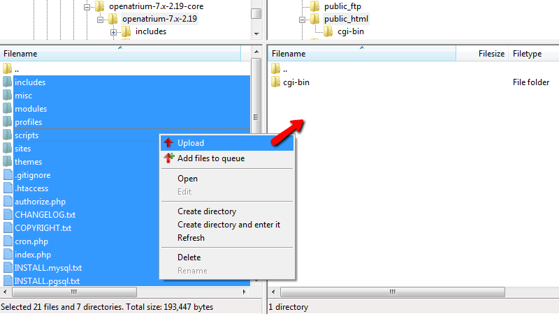 uploading-open-atrium-installation-files