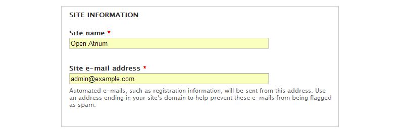 site-basic-information