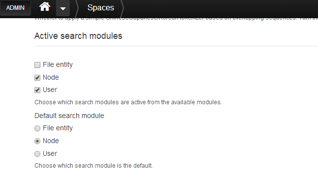 active-search-modules