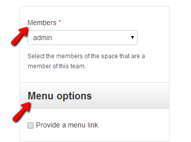 configuring-team-members-and-menu-options