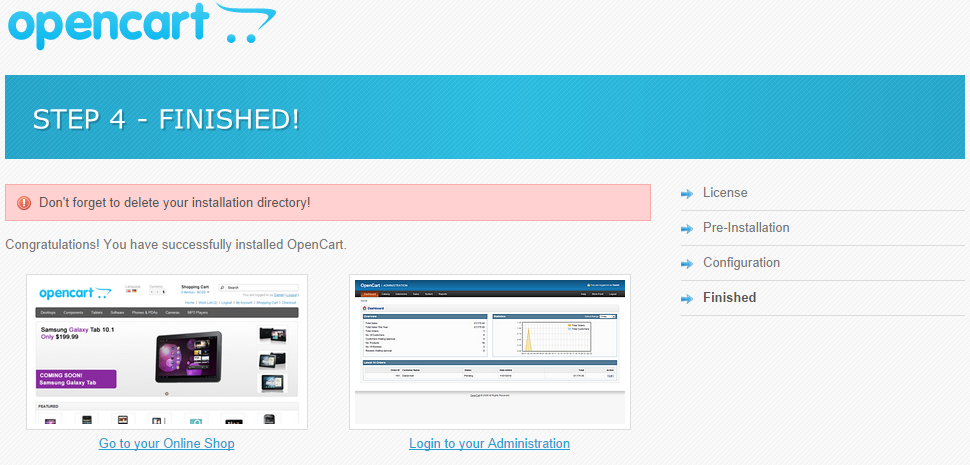 Install FastComet Free OpenCart Themes - OpenCart Tutorial