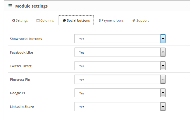 Enabling social media share buttons for your OpenCart 2 store