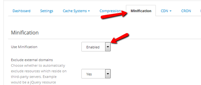 Enabling Minification for your OpenCart 2 Store via NitroPack
