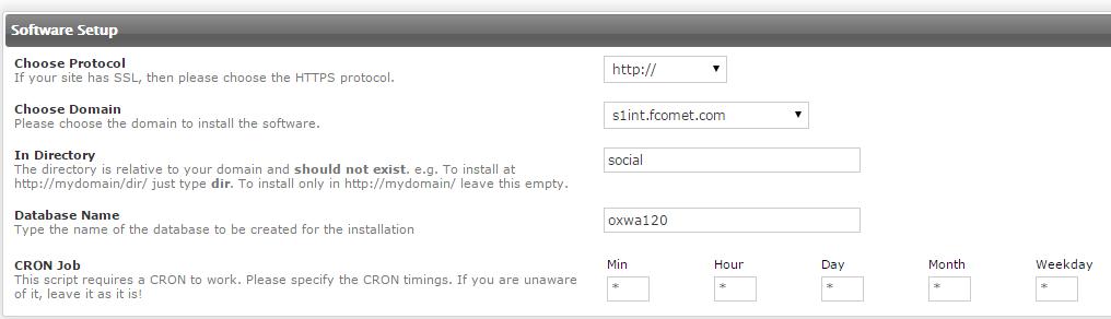 oxwall domain configuration