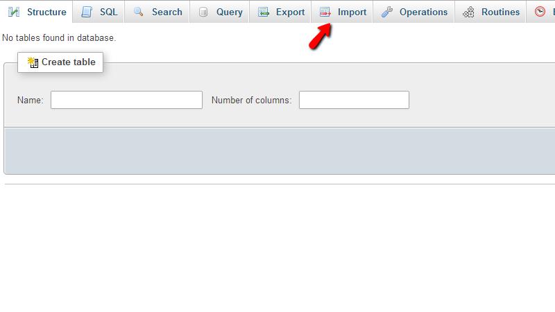 importing-database