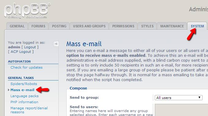 mass-email