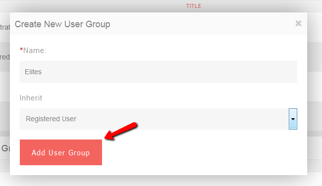 Create Custom User Group in PHPFox Neutron