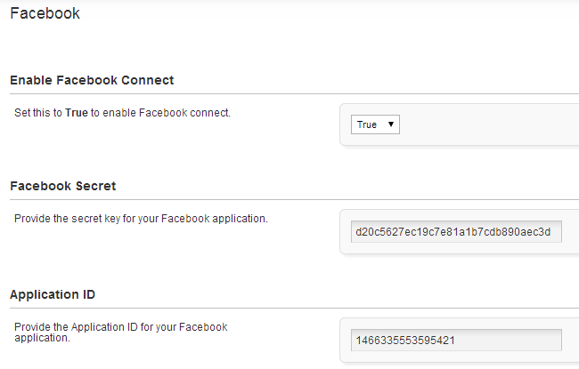 Edit Facebook Connect module in PHPFox