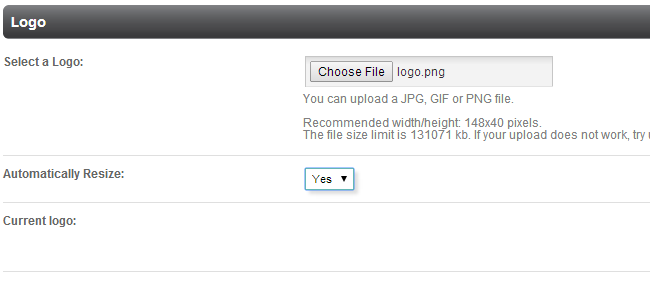 Upload logo in PHPFox