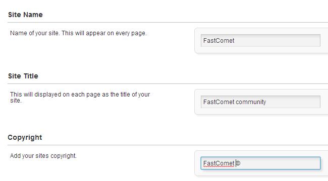Edit basic information in PHPFox