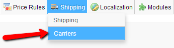 Shipping-Carriers