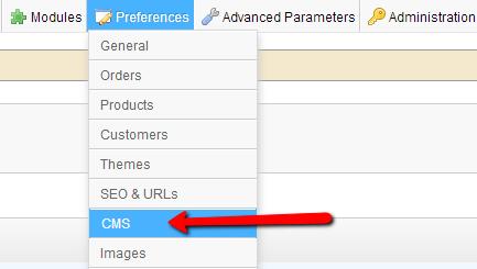 Preferences-CMS