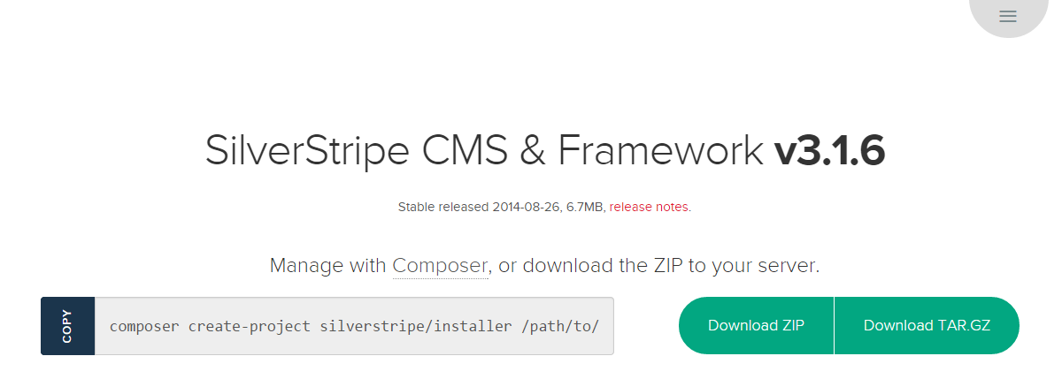 Download SilverStripe