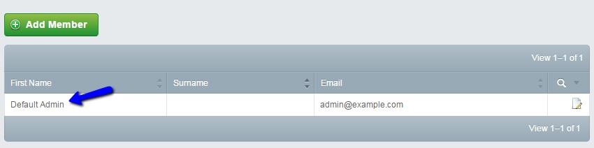 Edit default admin profile in SilverStripe