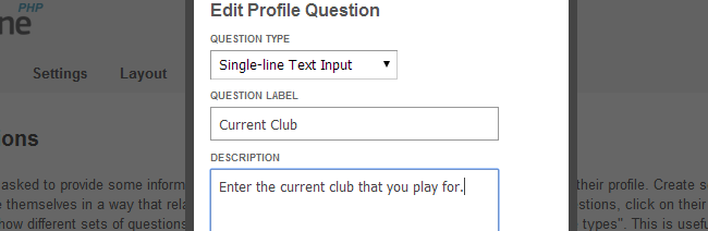 Edit questions for profile types in SocialEngine